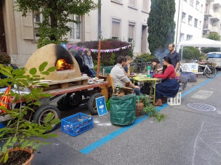 Park(ing) Day! in Basel